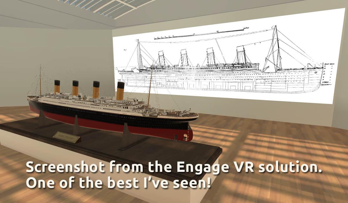 Engage VR titanic