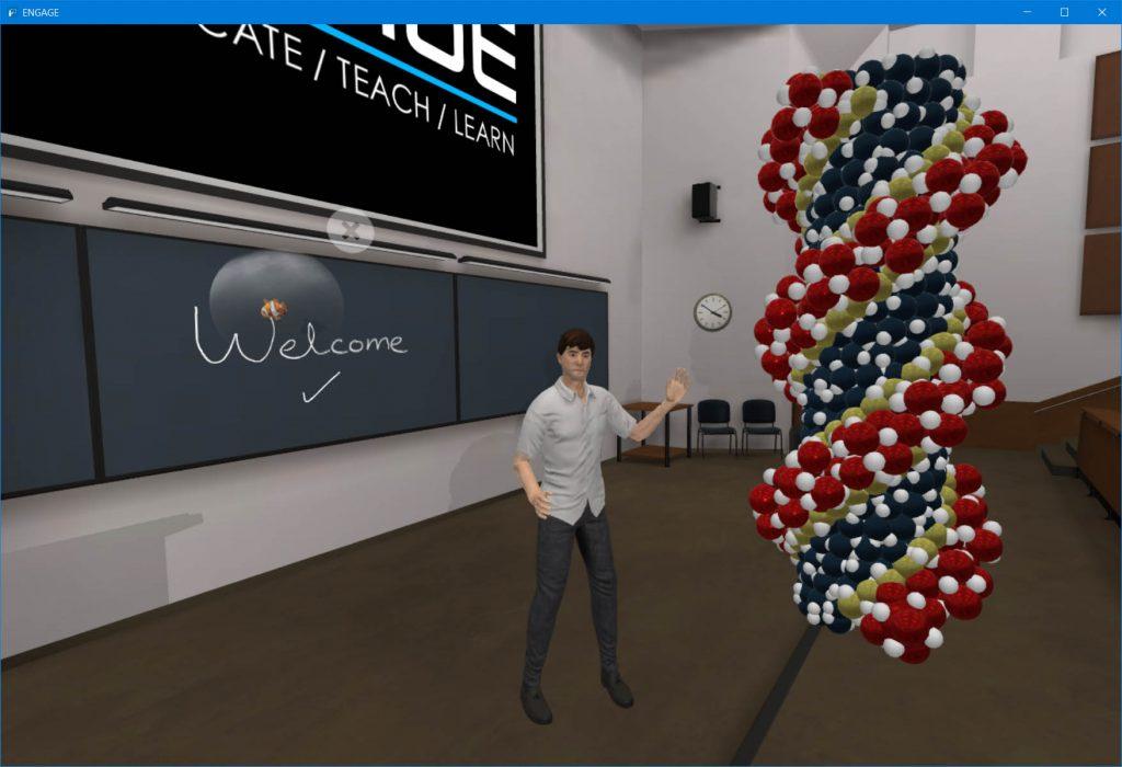 Engage VR intro